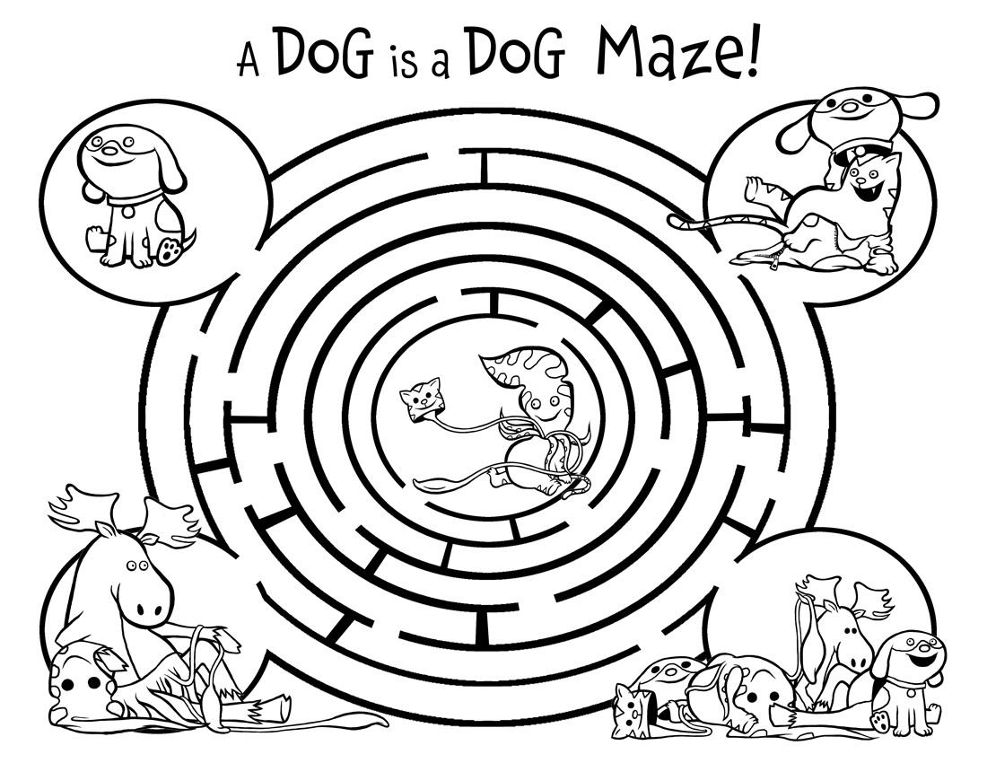 fun-mazes-for-kids-dog