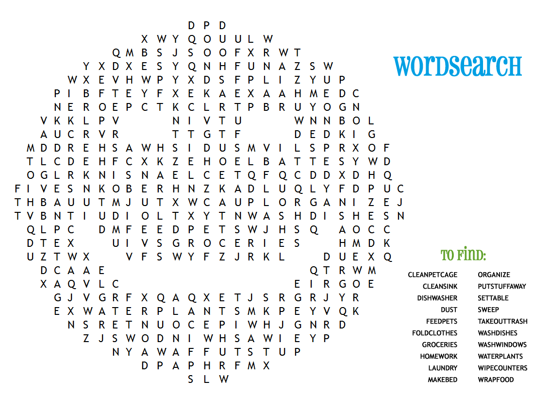 ... word searches for kids activity shelter : Fun Word Searches For 5th