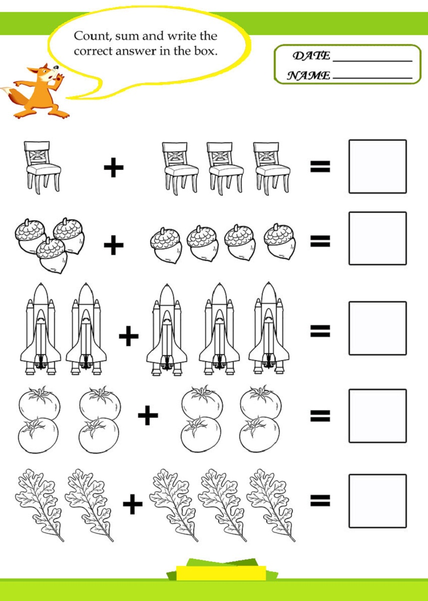 worksheet Math Worksheets For Kids images of math worksheets activity shelter kids