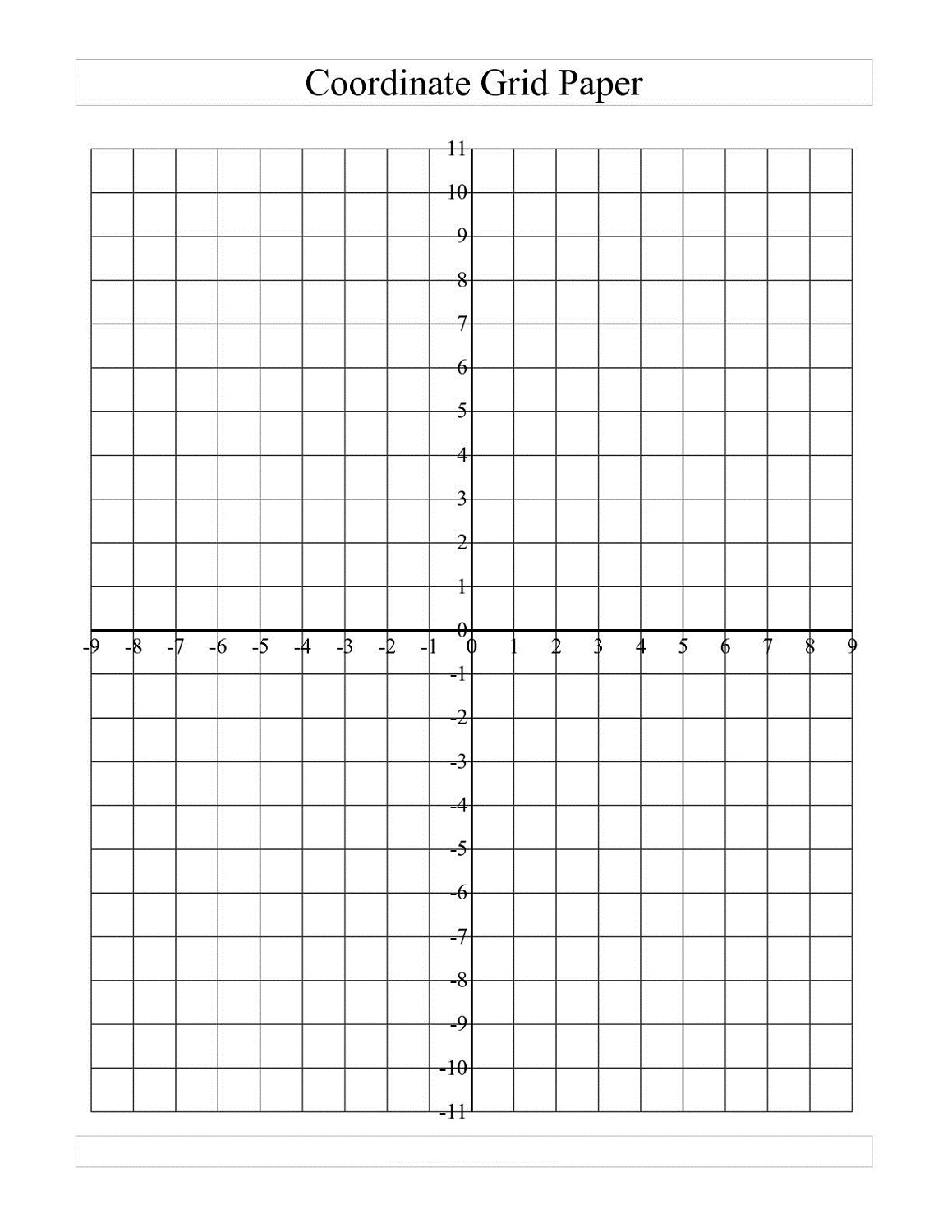 Free Math Grid Worksheets | Activity Shelter