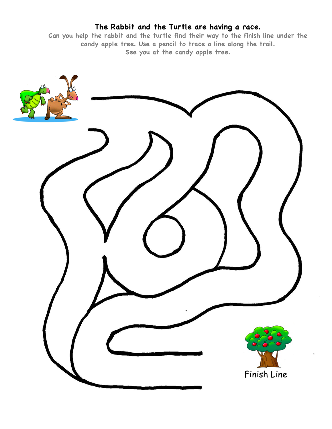 maze-for-kids-easy