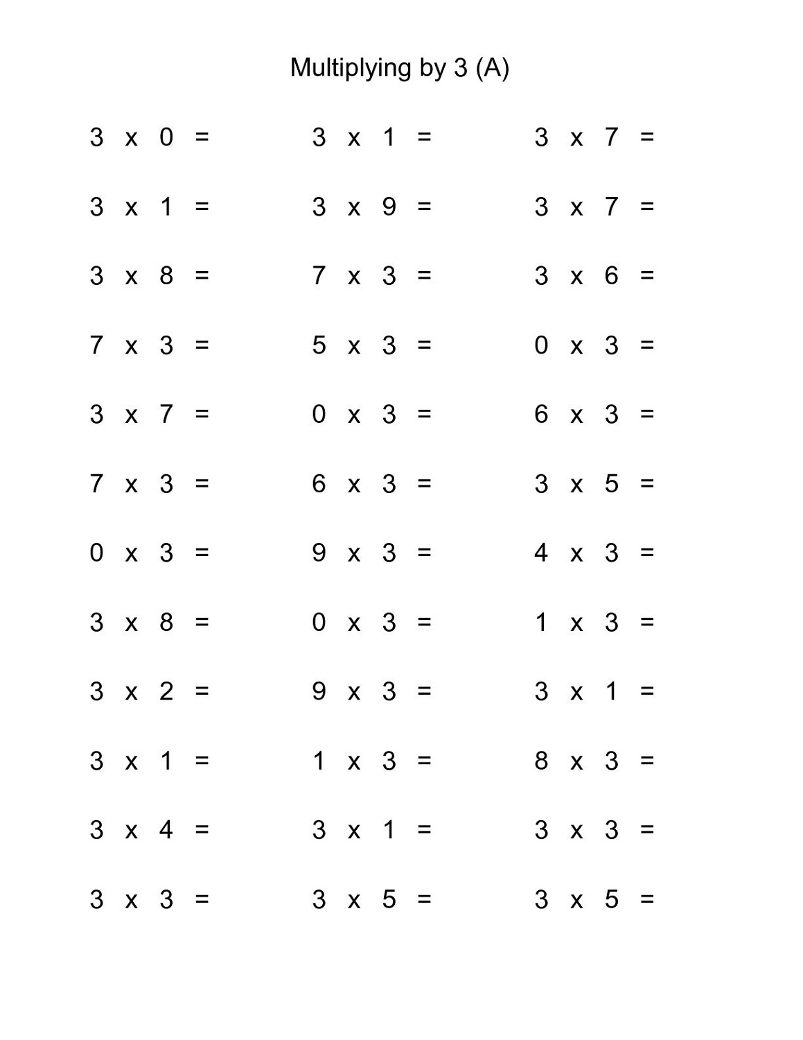 multiply-by-3-worksheets-practice