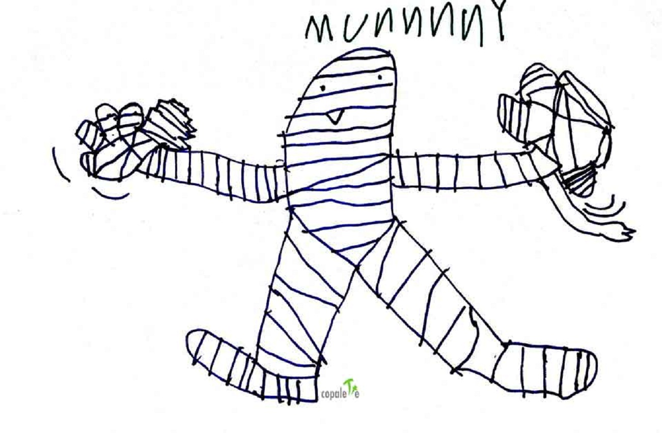 mummy-pictures-for-kids-drawing