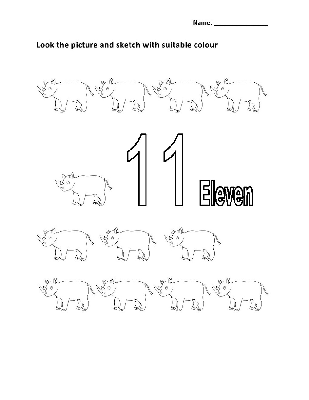 number-11-worksheet-for-colour