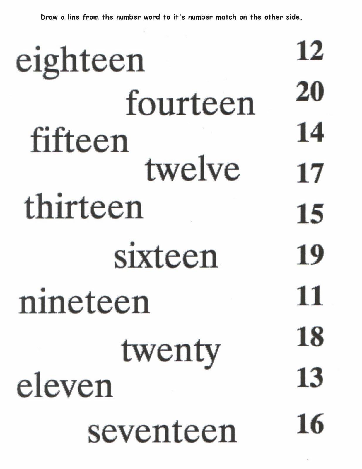 number-word-worksheets-free