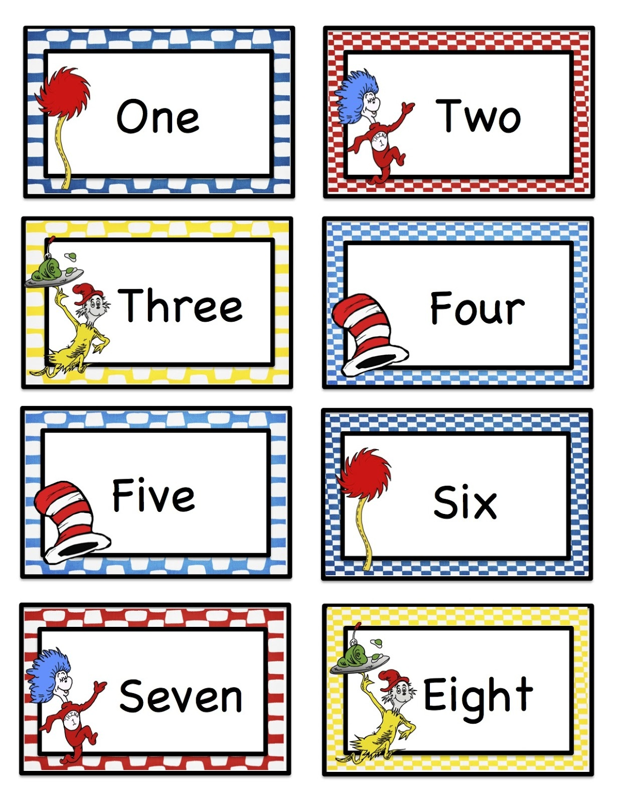 Printable Number Words Worksheets – Number Word Worksheets