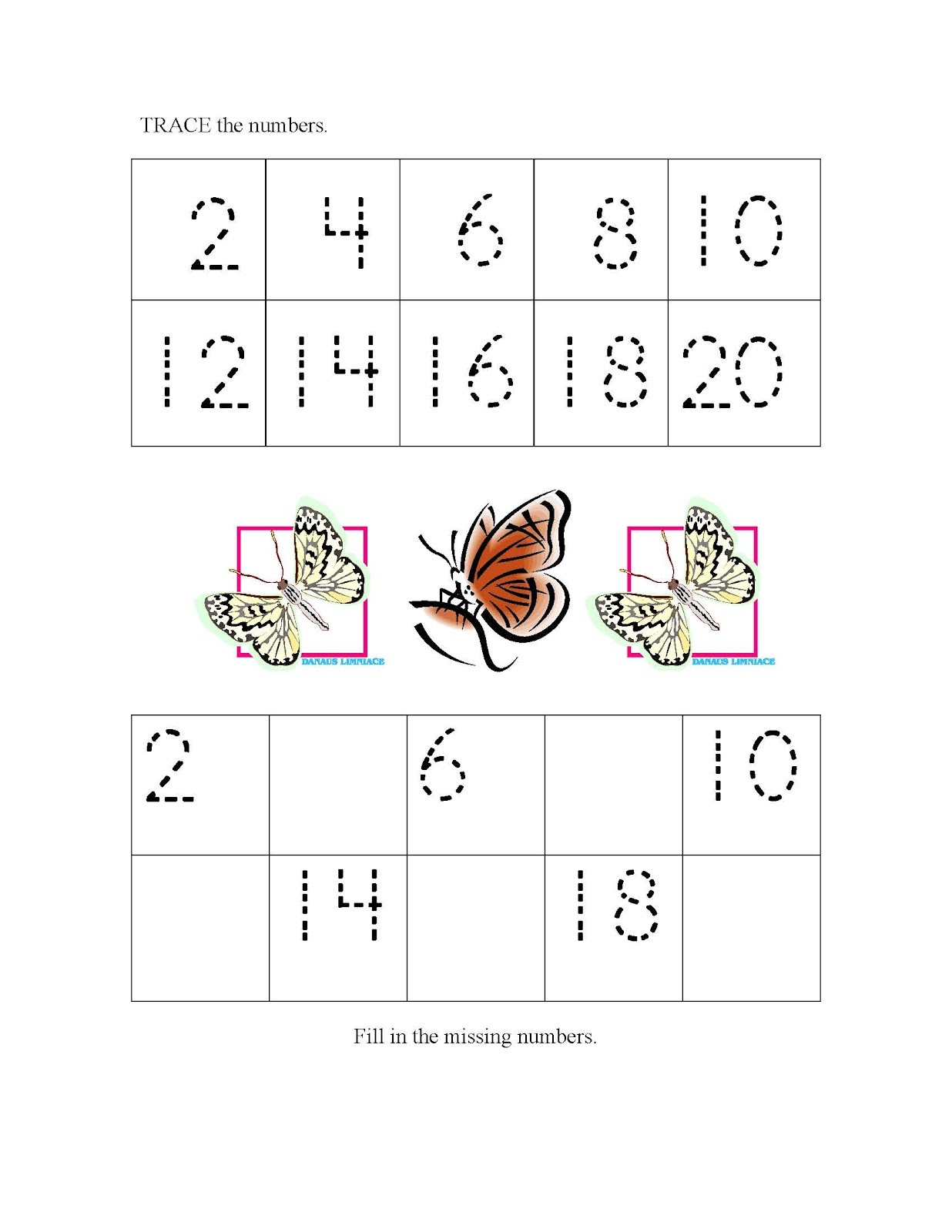 Skip Count by 2 Worksheets | Activity Shelter