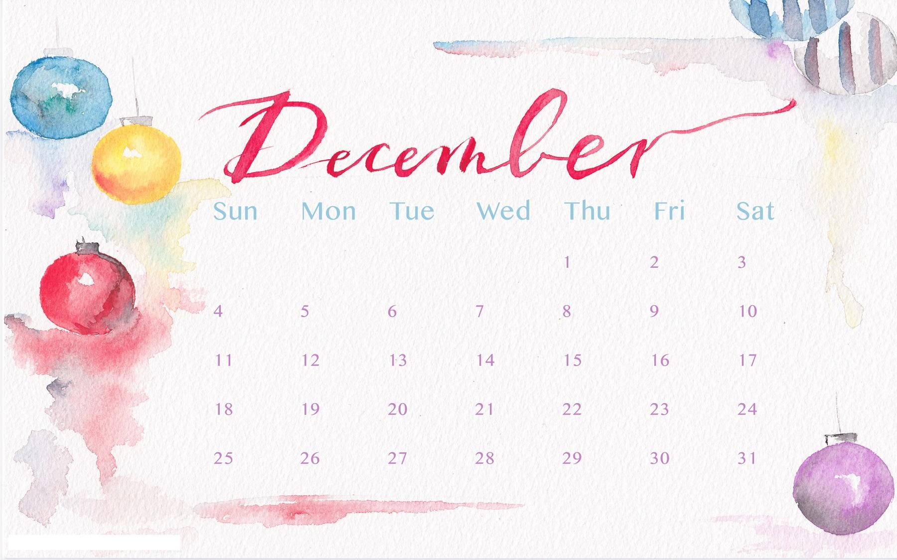 december-2016-calendar-cute