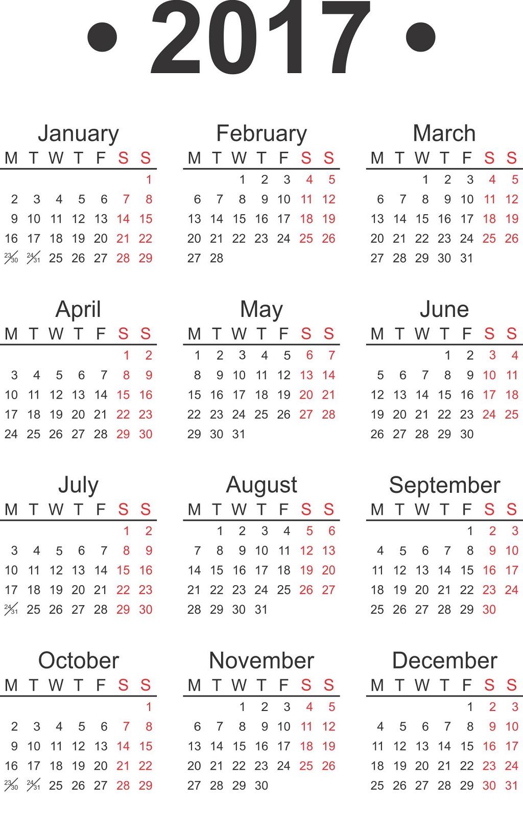 free-printable-calendars-2017-flat