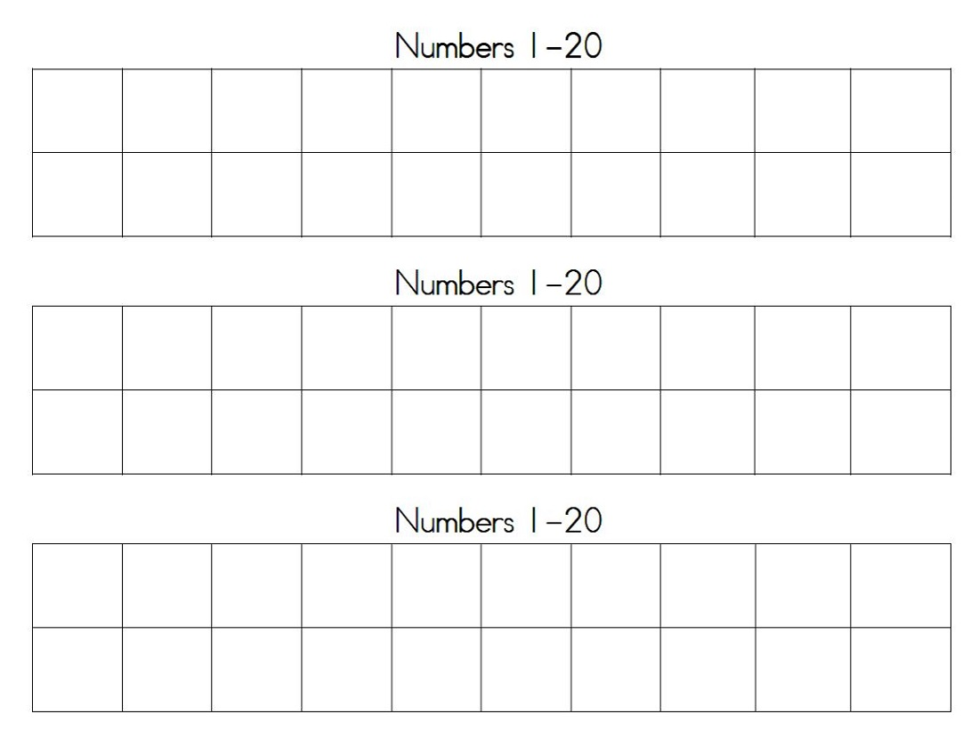 picture regarding Number Grid Printable identify Printable Quantity Chart 1-20 Match Shelter