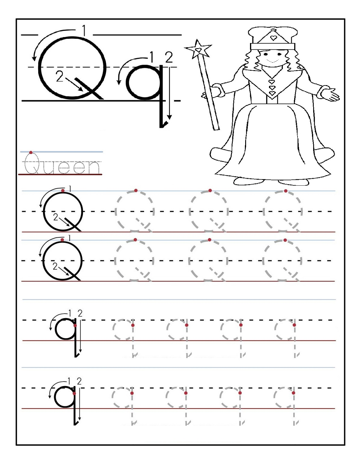 Trace the Alphabets Worksheets | Activity Shelter