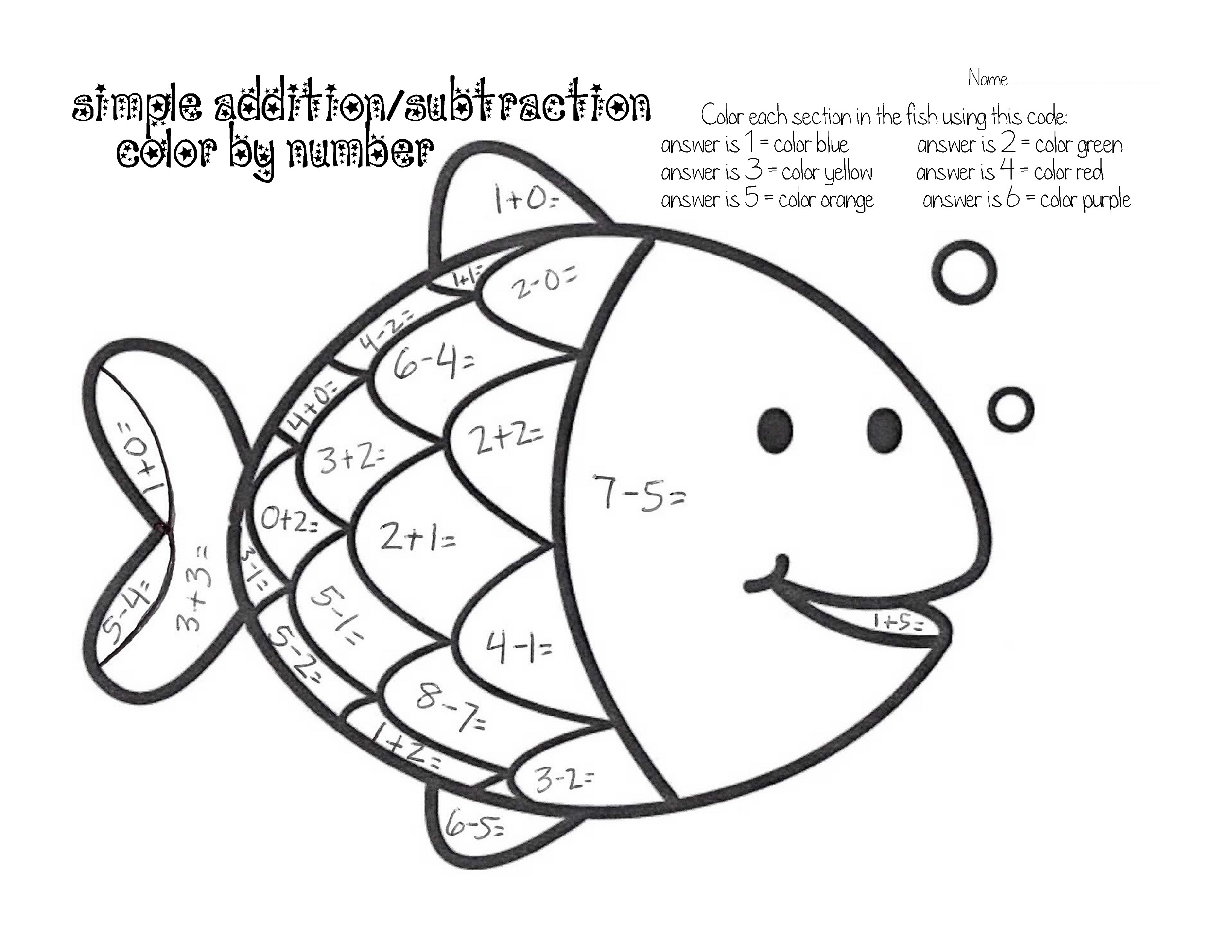 color-by-numbers-worksheets-fish