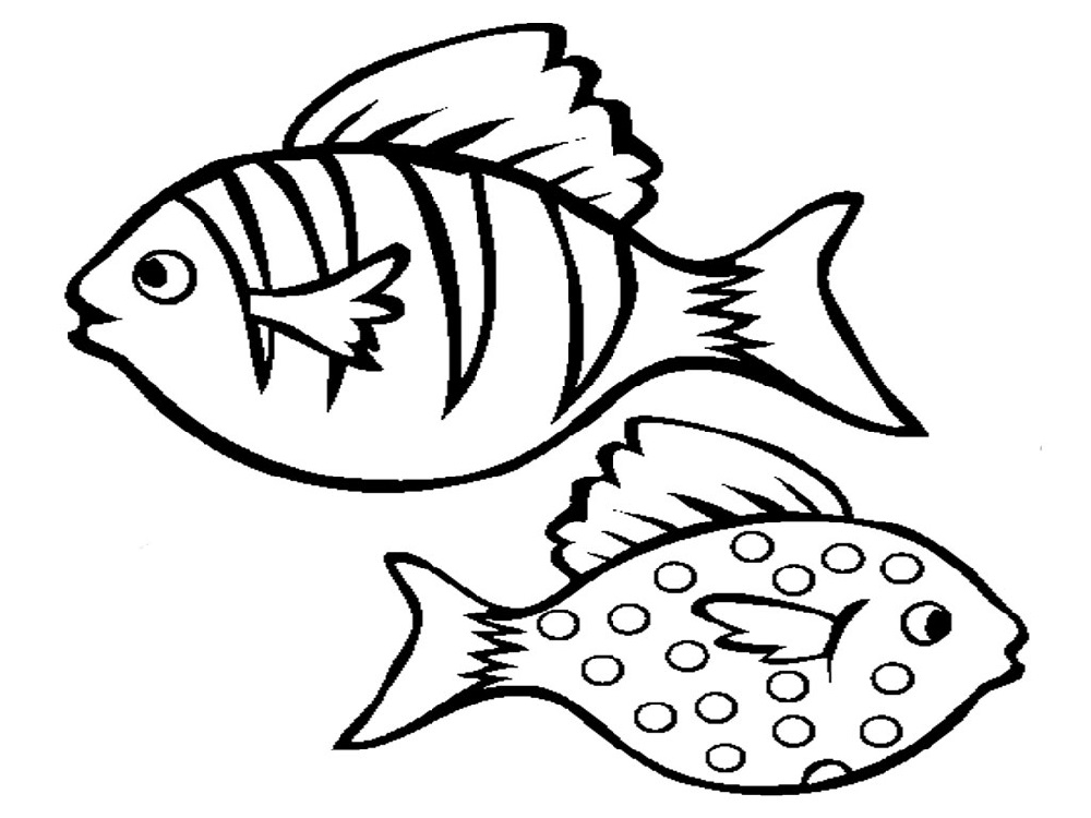 coloring pages printable free fish - photo#16