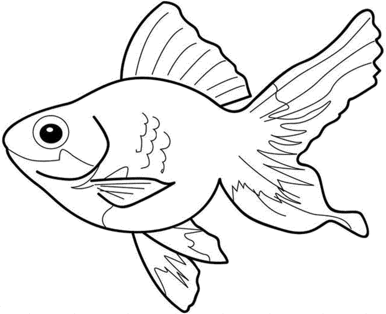 Color Pages of Fish | Activity Shelter