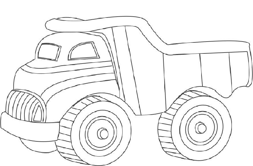 dump-truck-pictures-for-kids-coloring
