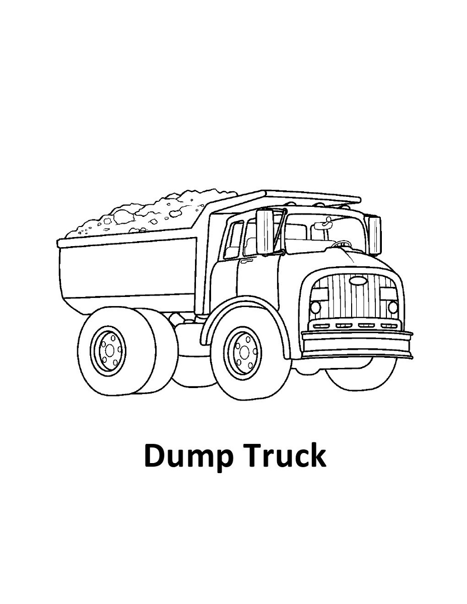 dump truck pictures for kids activity shelter