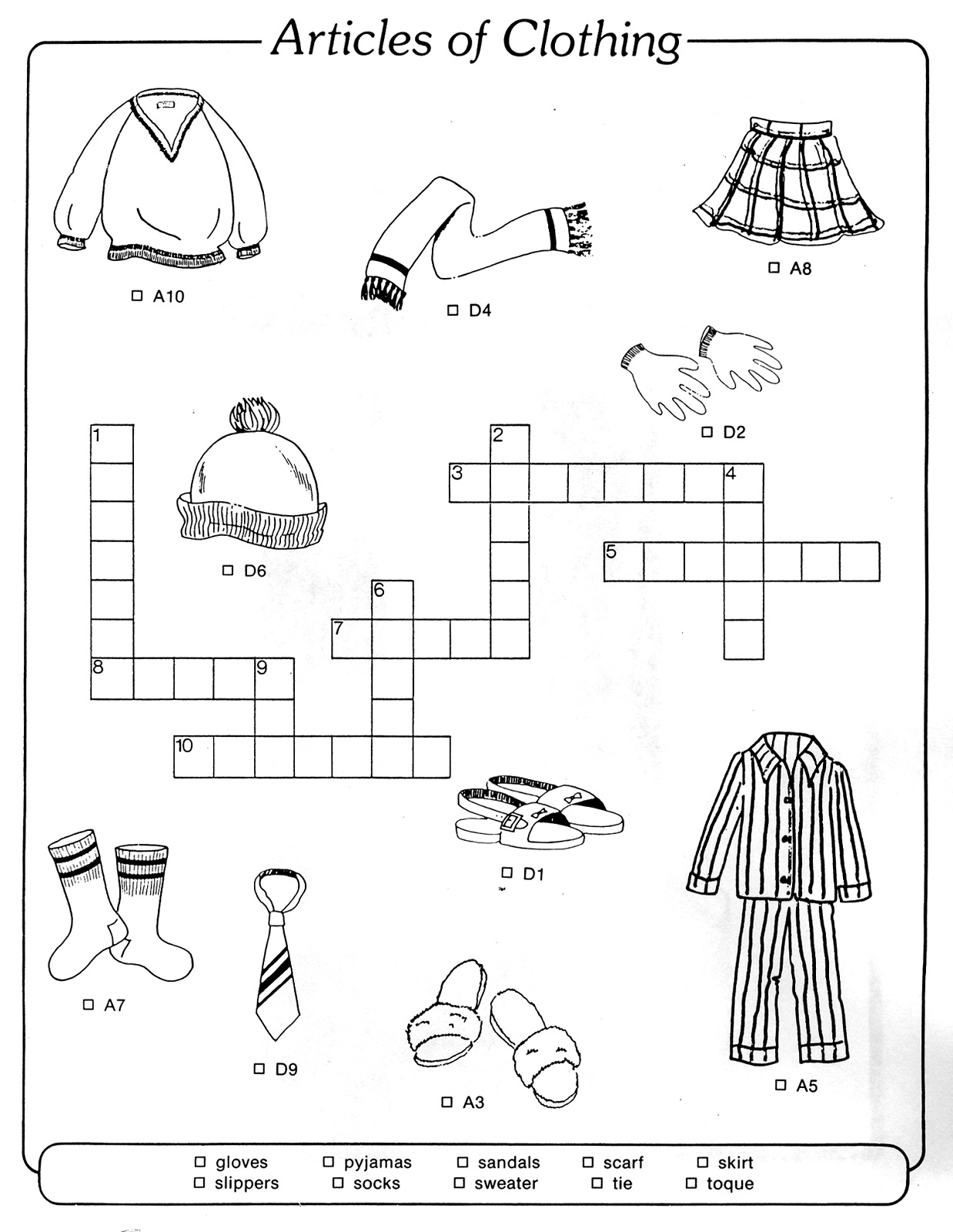 easy-crossword-puzzles-for-kids-clothing