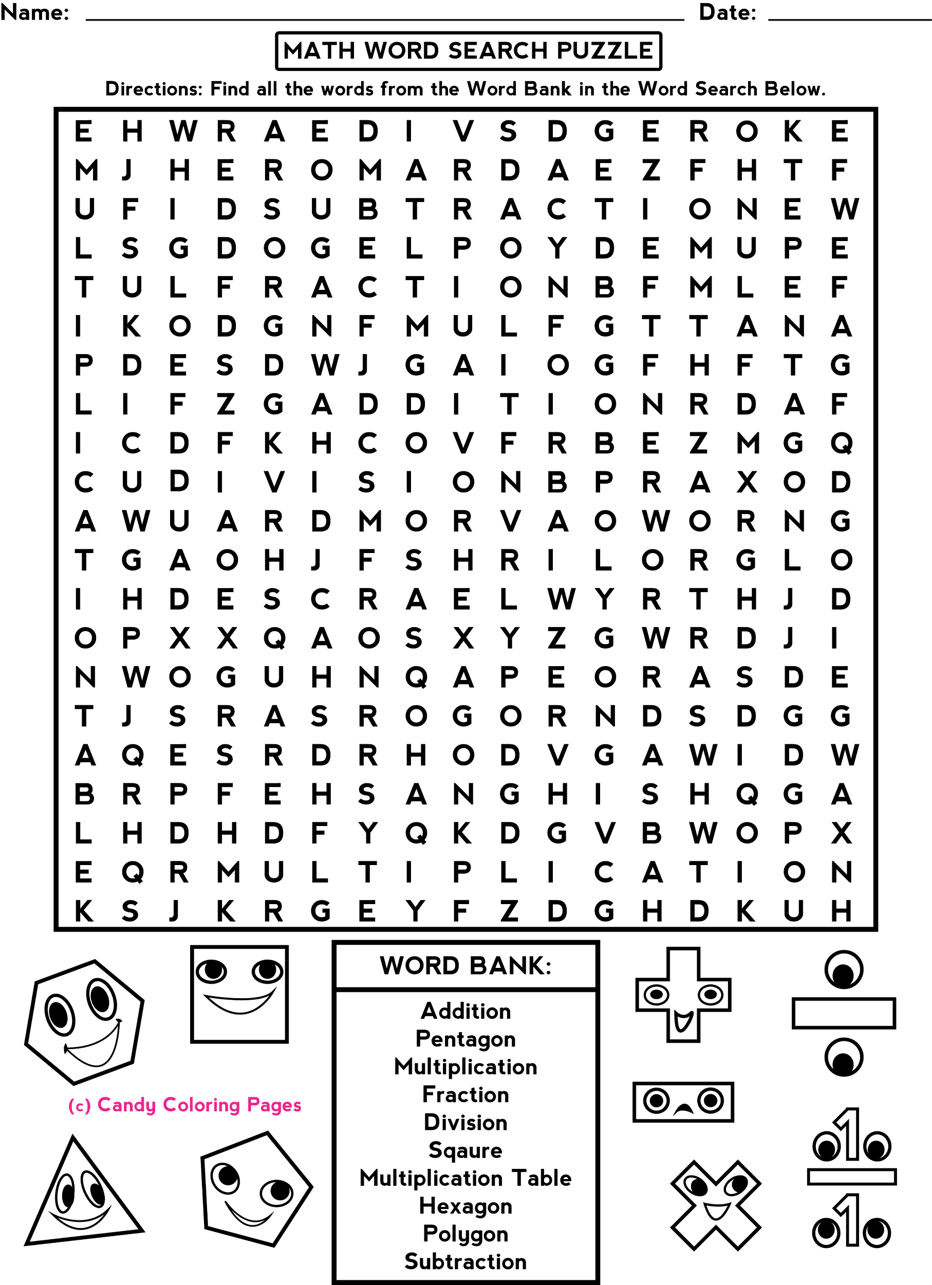 free-word-search-worksheets-math