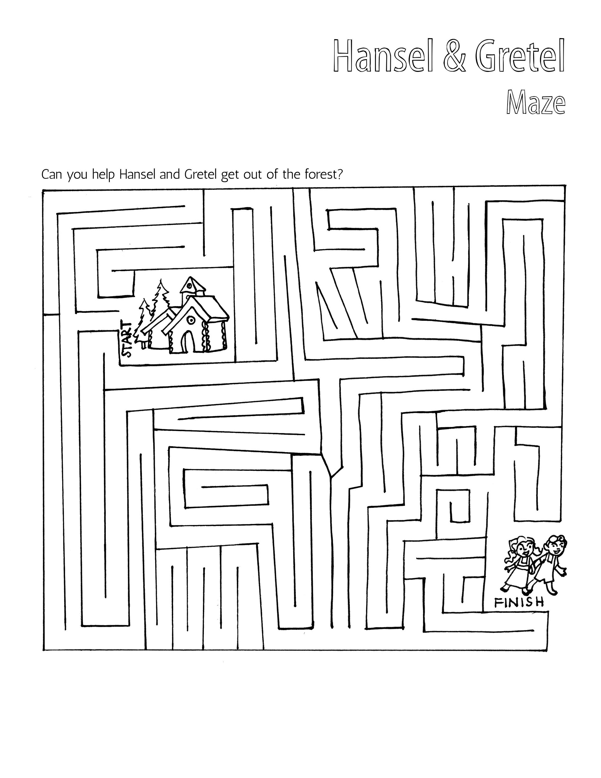 hansel-and-gretel-worksheets-maze
