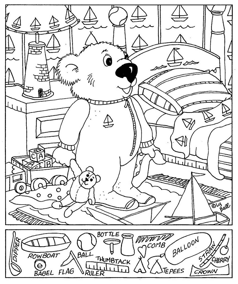 Worksheets Hidden Picture Worksheets hidden pictures worksheets activity shelter worksheet bear