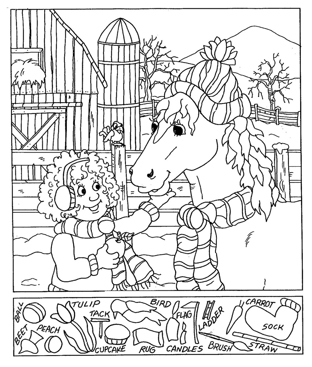 Printables Hidden Picture Worksheets hidden pictures worksheets activity shelter worksheet horse