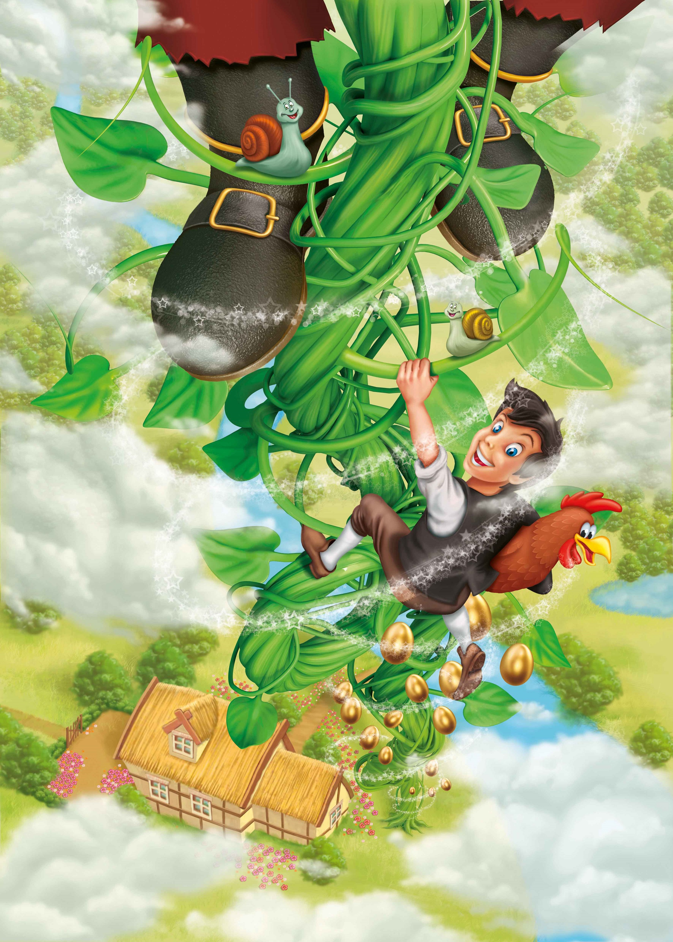 Jack And The Bean Stalk Story For Kids
