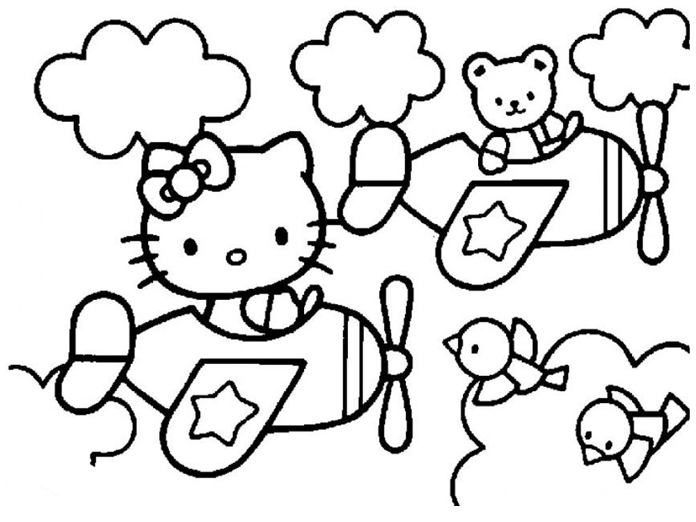 kids-activity-pages-hello-kitty