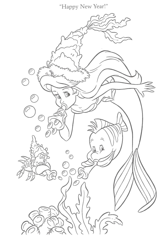 Little Mermaid Activities Activity