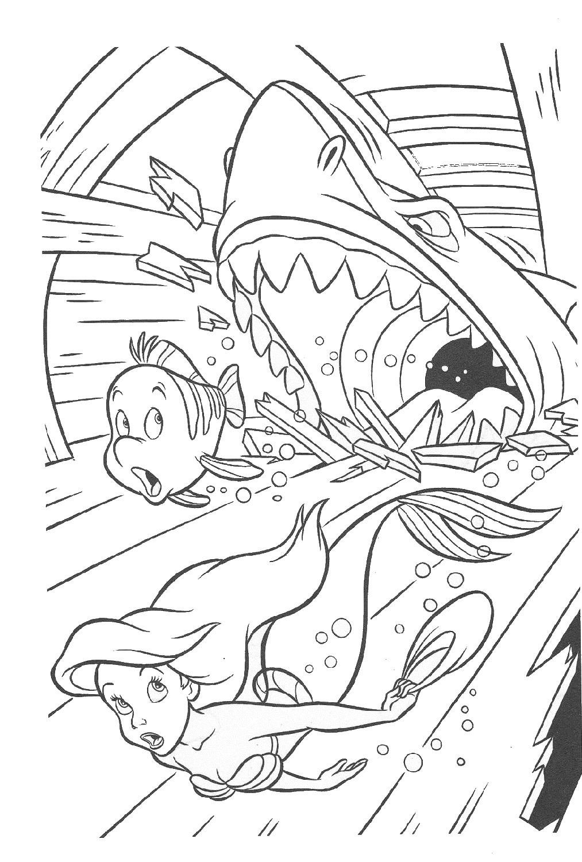 little-mermaid-activities-shark