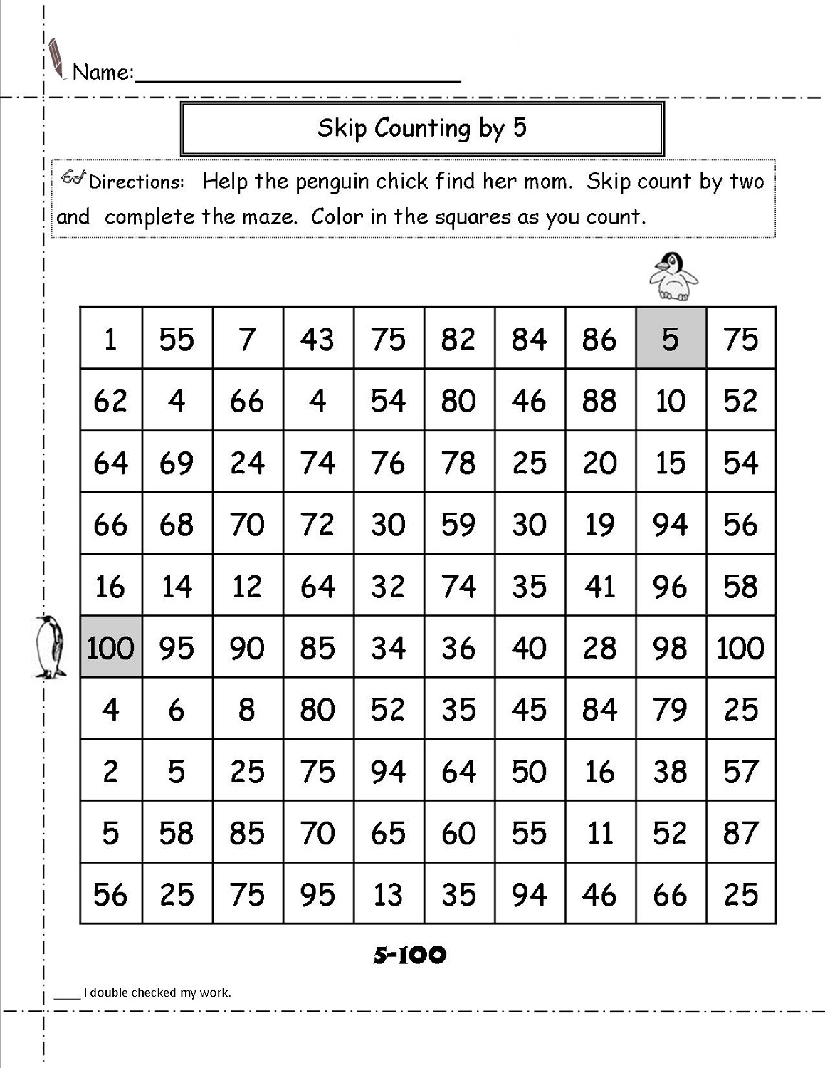 math-maze-worksheets-penguin