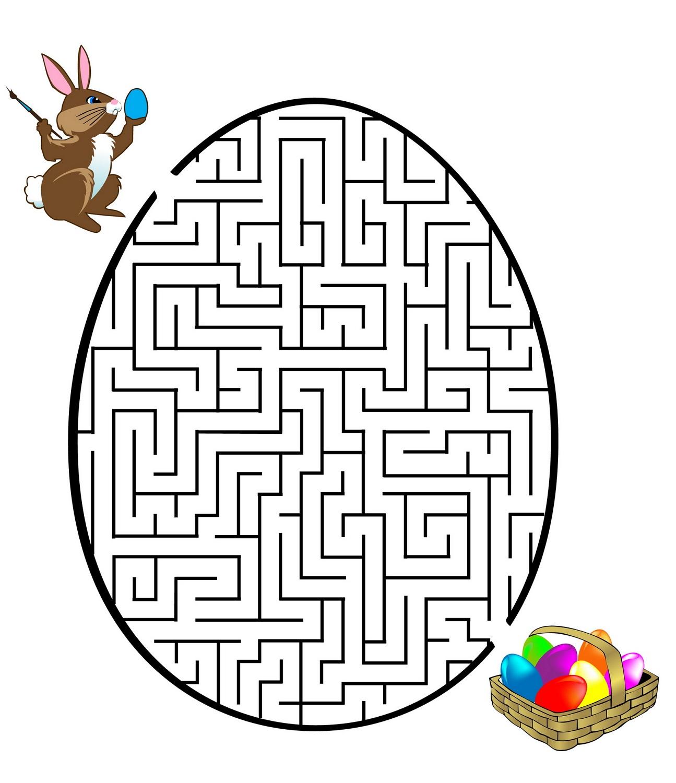 mazes-for-children-easter