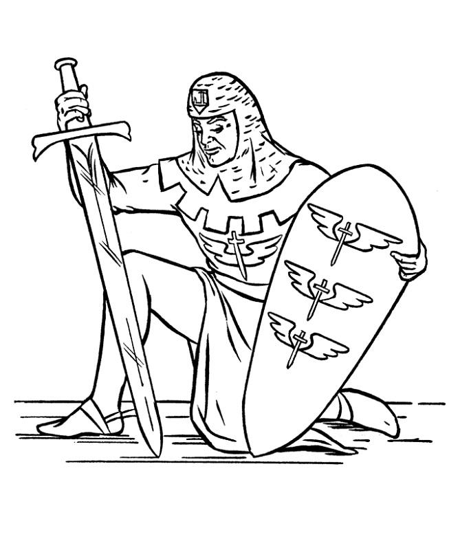 medieval-times-worksheets-kneel