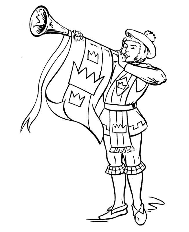 medieval-times-worksheets-trumpet