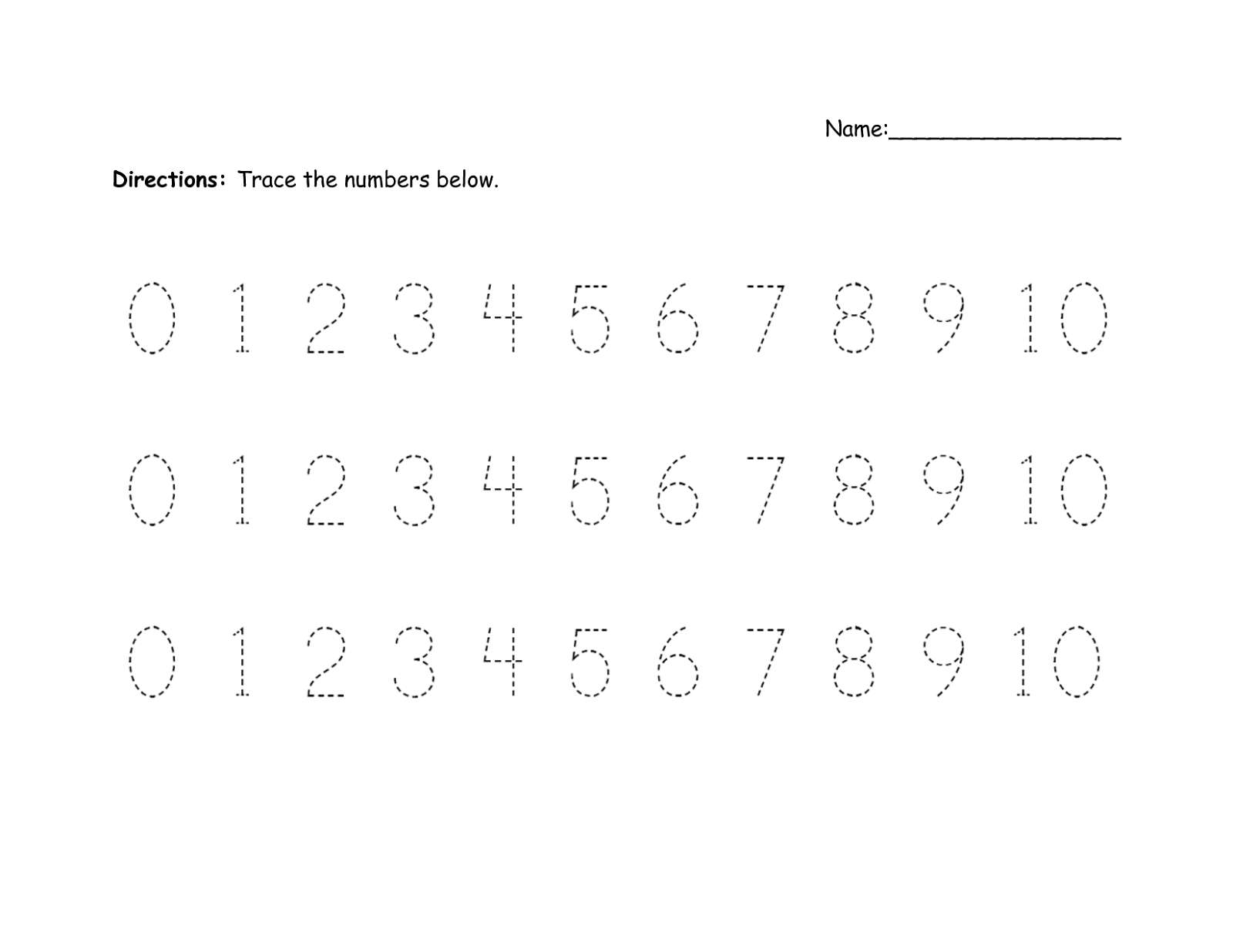 number-trace-worksheet-0-10