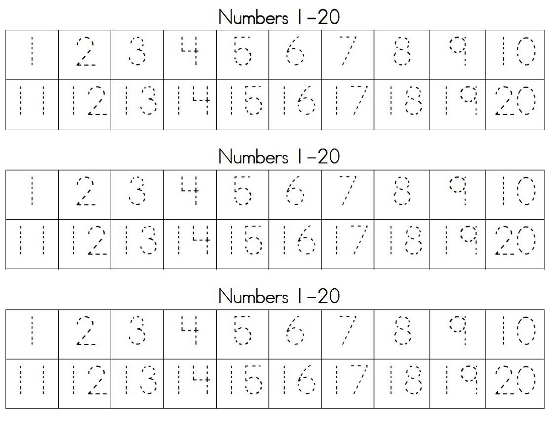 numbers-1-20-worksheets-trace