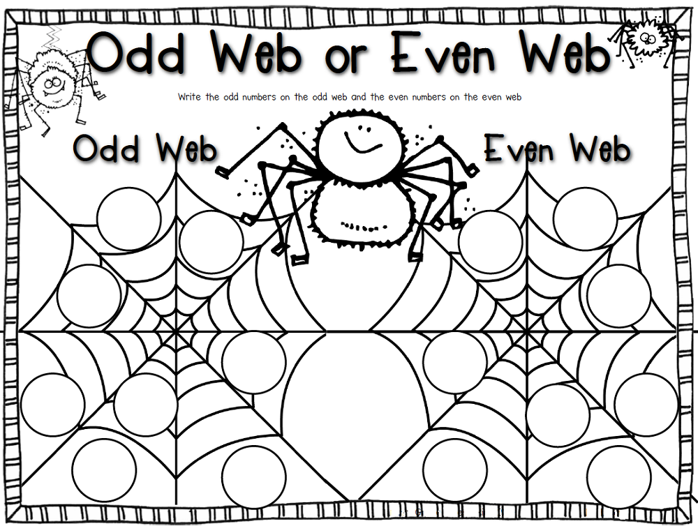 Odd and Even Numbers Worksheets – Even and Odd Numbers Worksheets