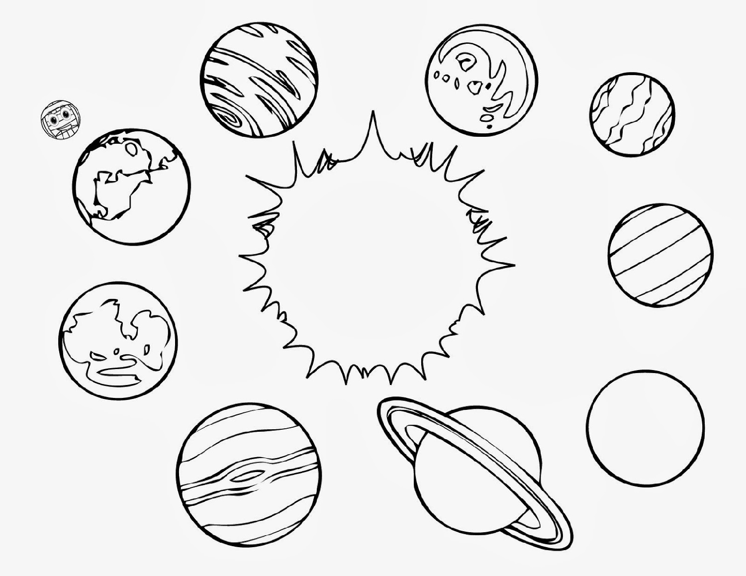 Printable Outer Space Worksheets | Activity Shelter