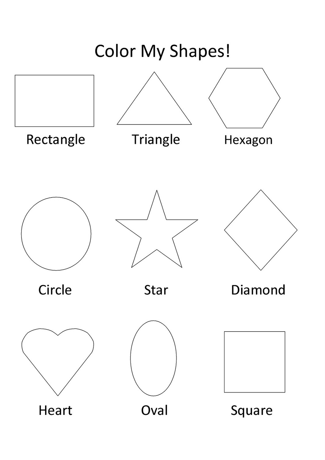 - Shapes Worksheets For Kids Activity Shelter