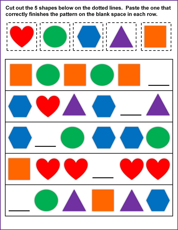 Shapes Worksheets for Kids | Activity Shelter