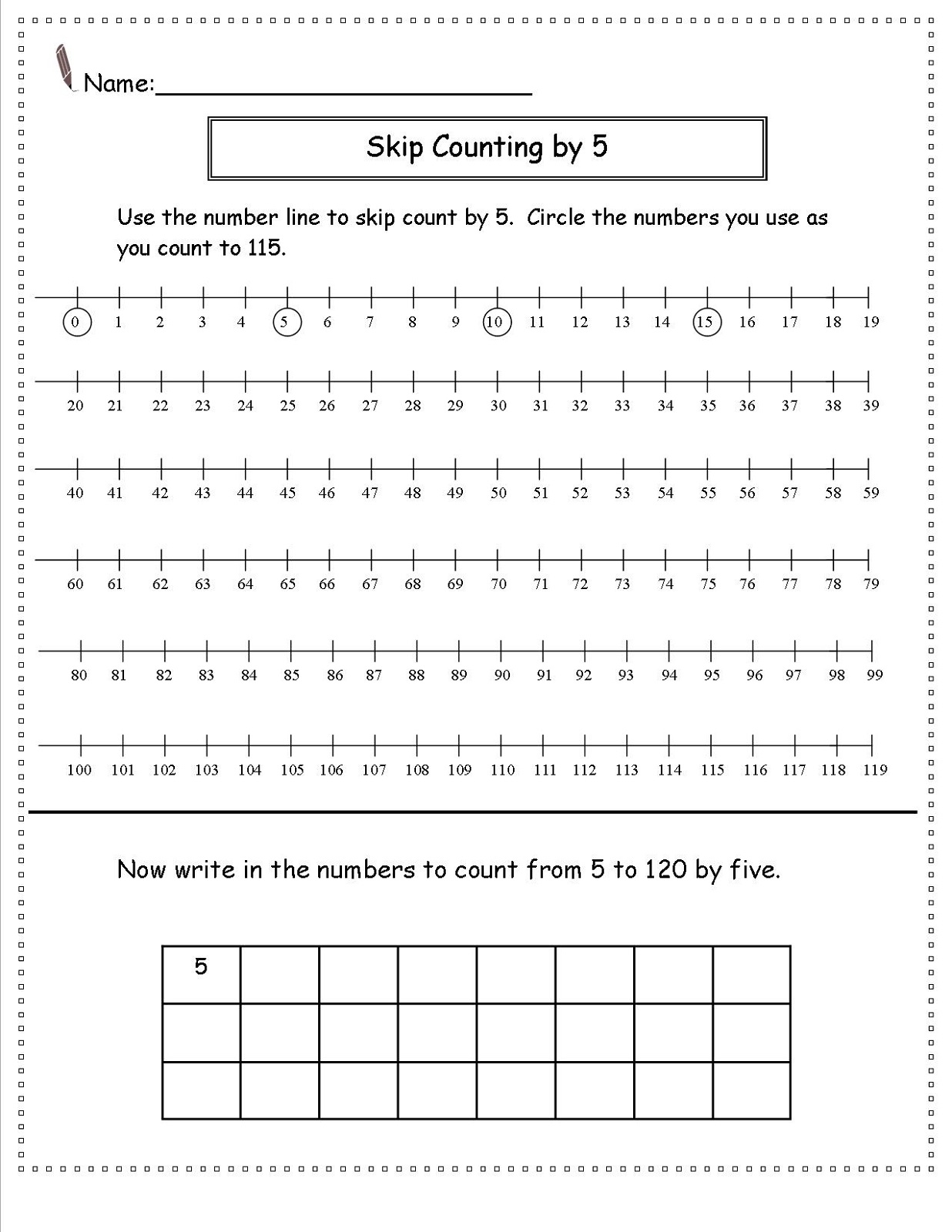 skip-count-by-5-worksheet-line