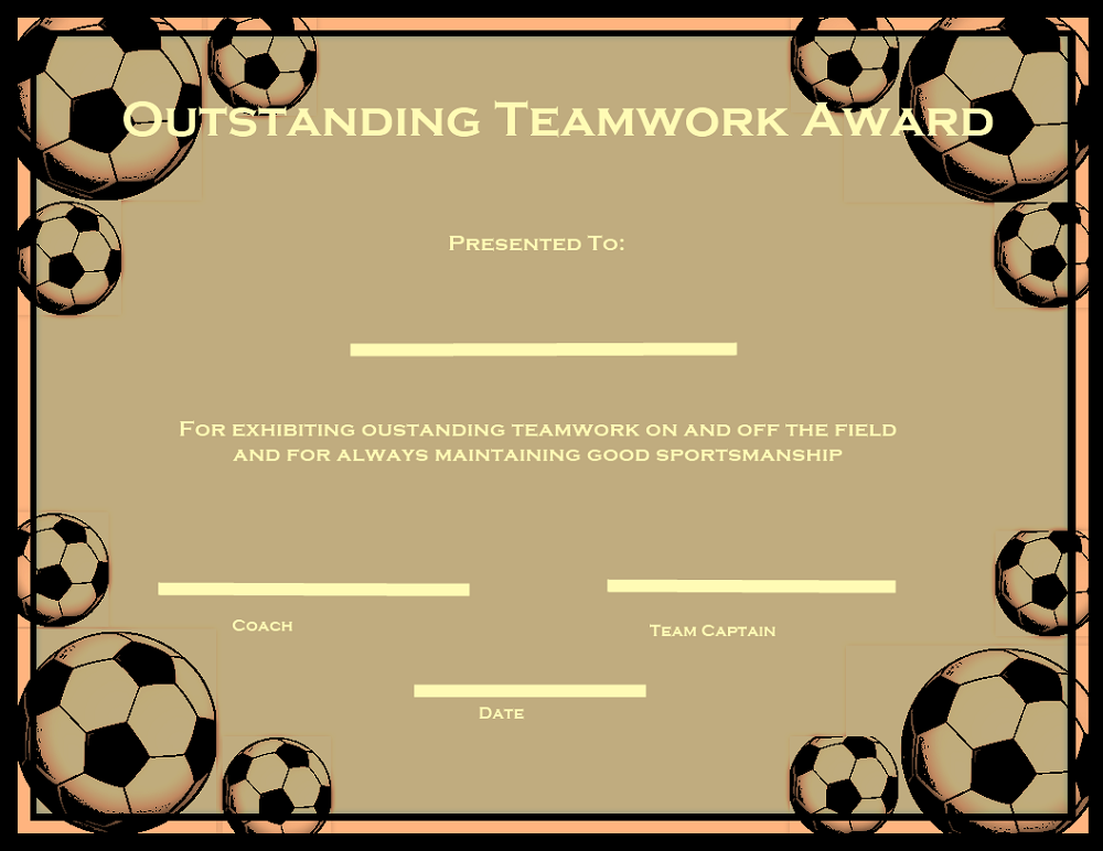 Soccer certificate templates to download choose from 1250 templates formal school graduation sports award and more soccer certificate template yelopaper Gallery