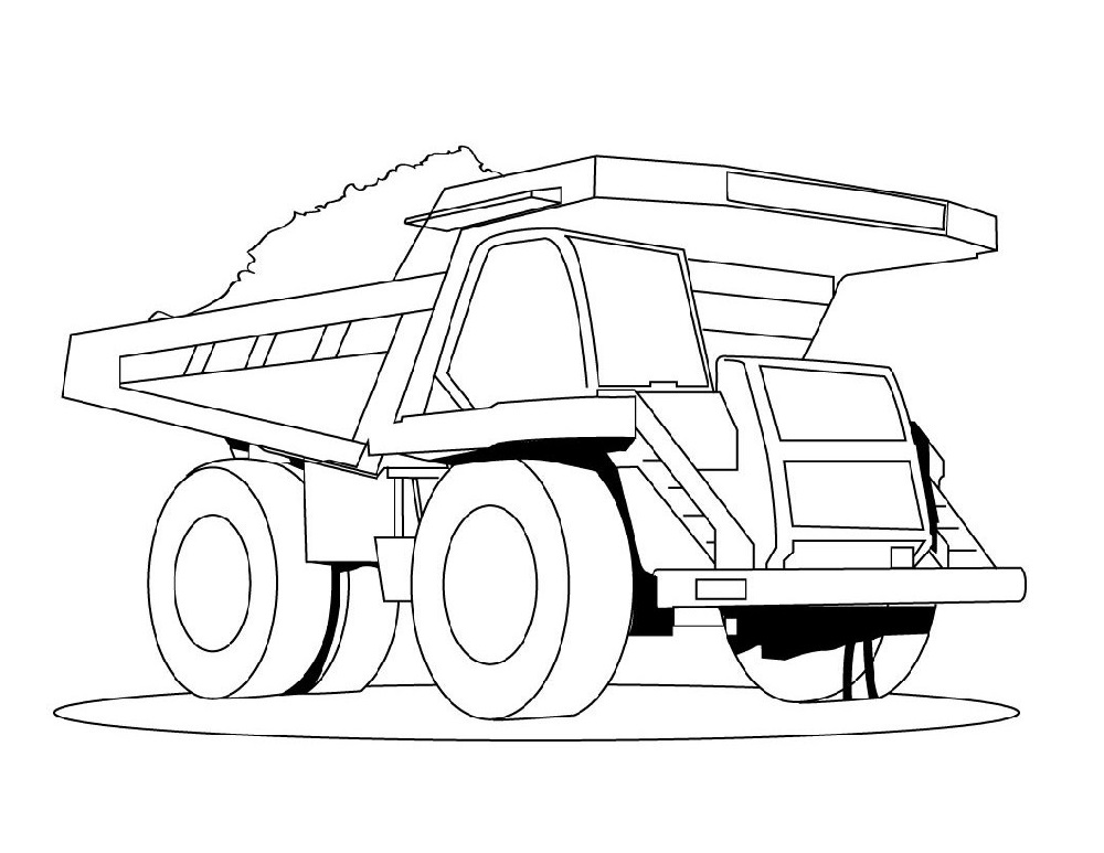 truck-color-pages-dump-truck