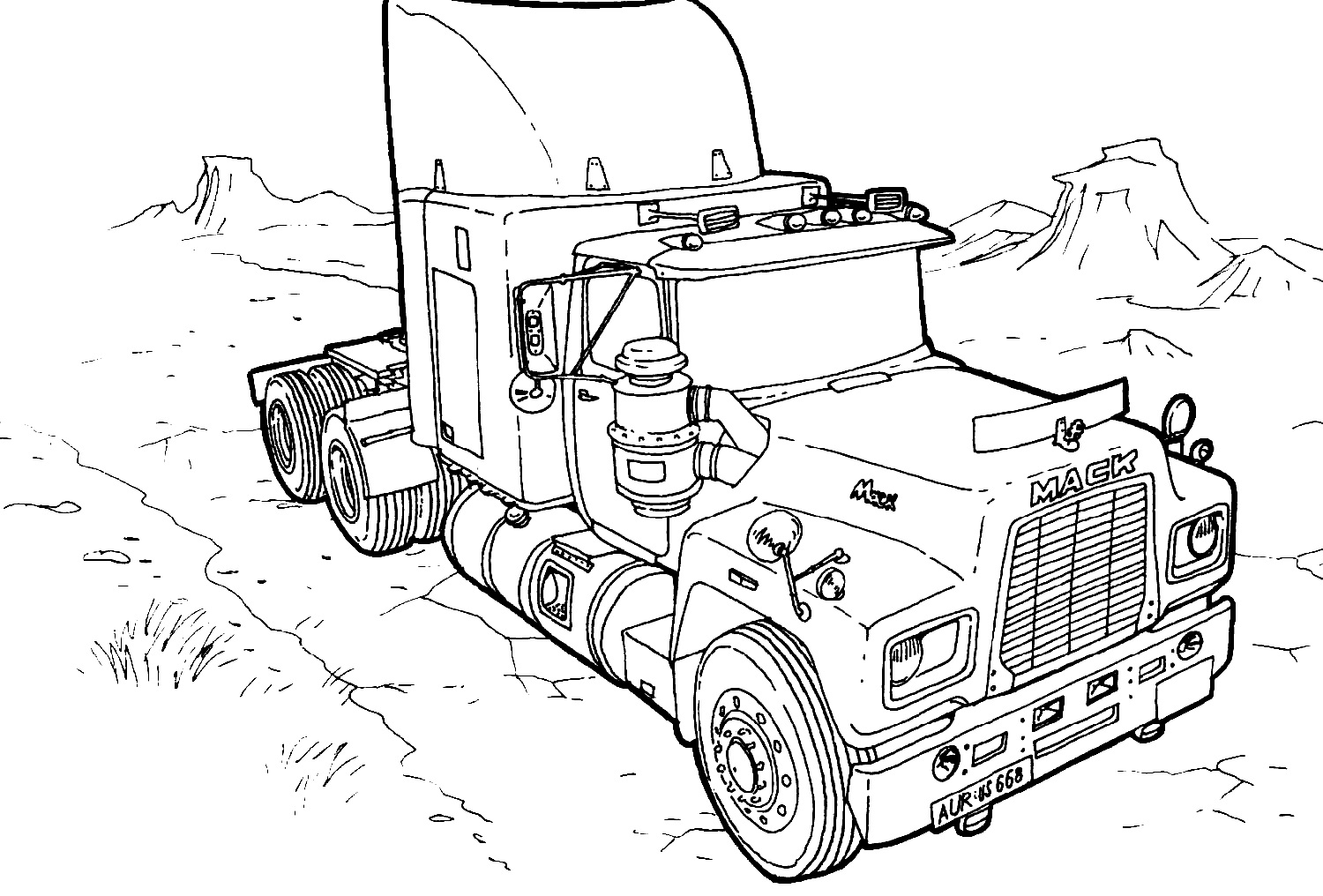 truck-color-pages-printable