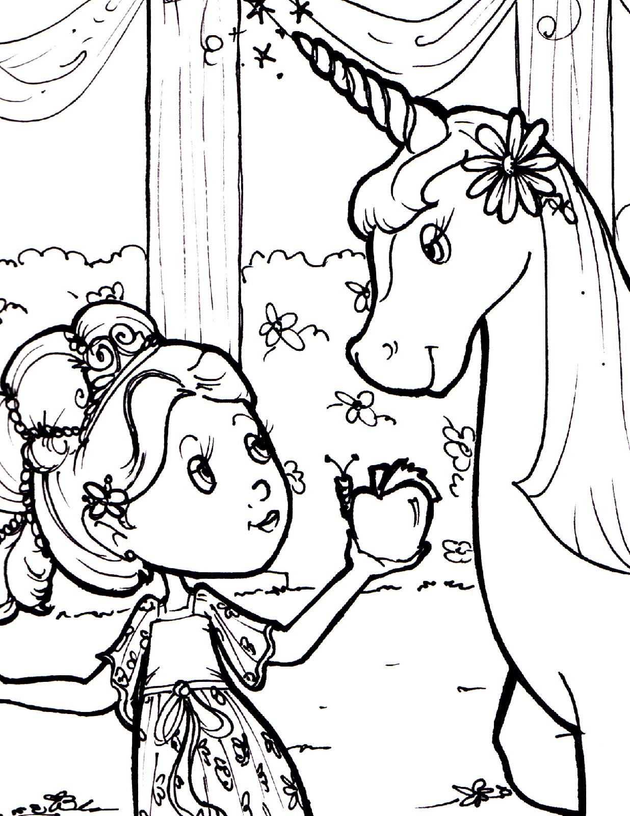 unicorn-color-pages-princess