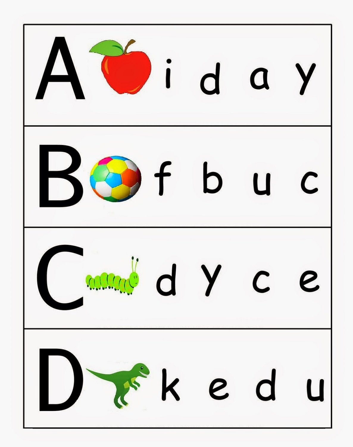 uppercase-and-lowercase-worksheets-children