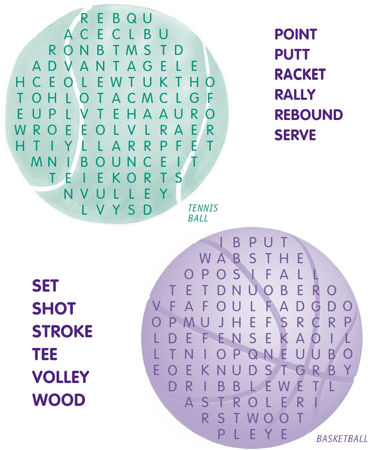 printable word search sports activity shelter