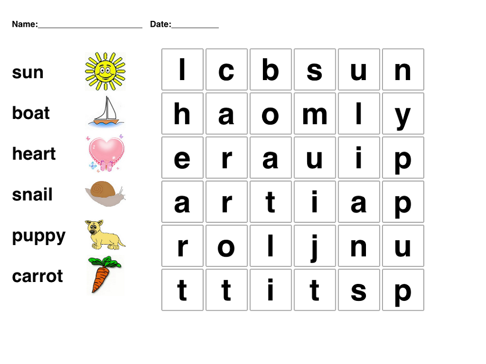 word-searches-for-children-printable