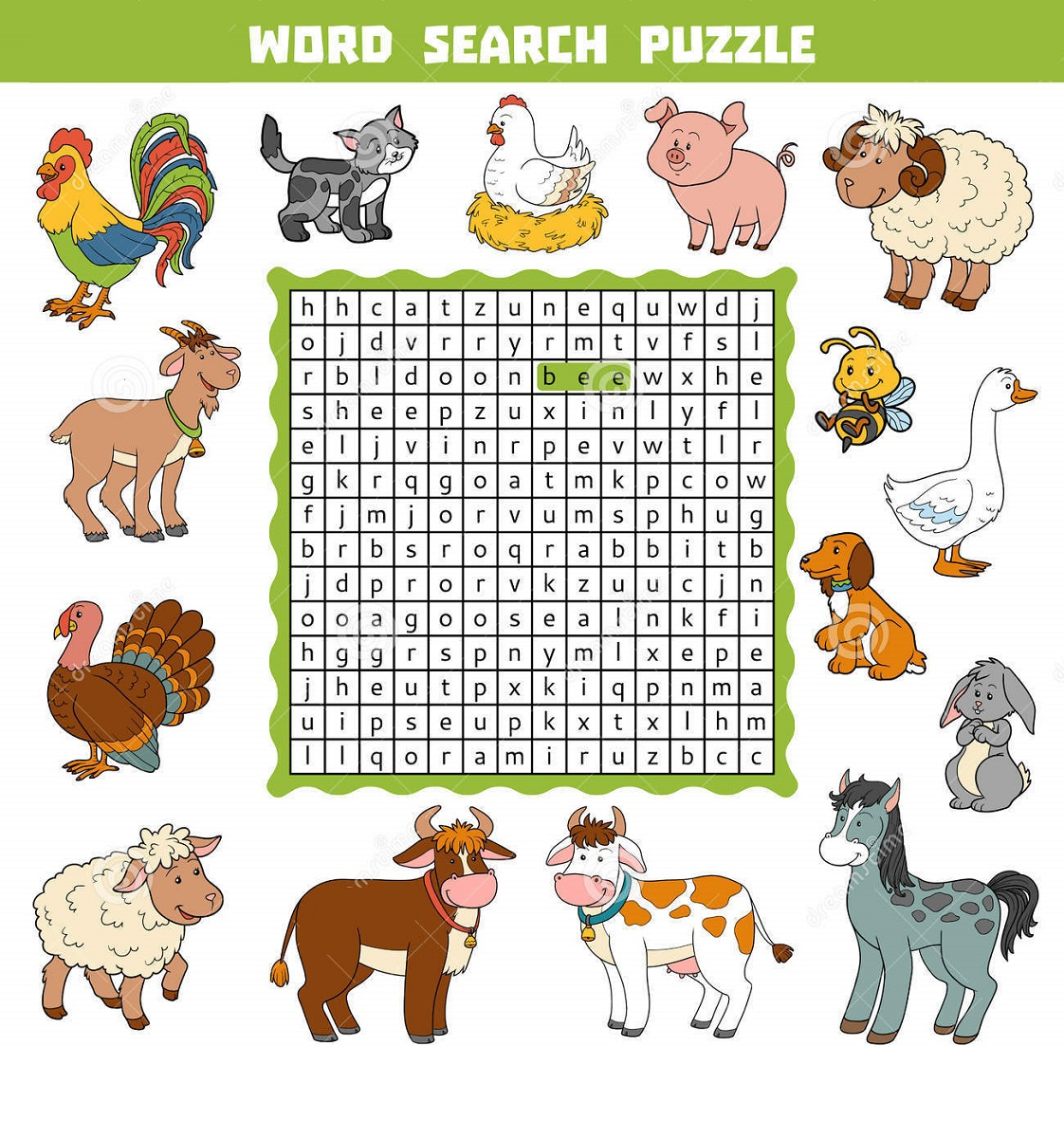 animal-farm-word-search-pictures