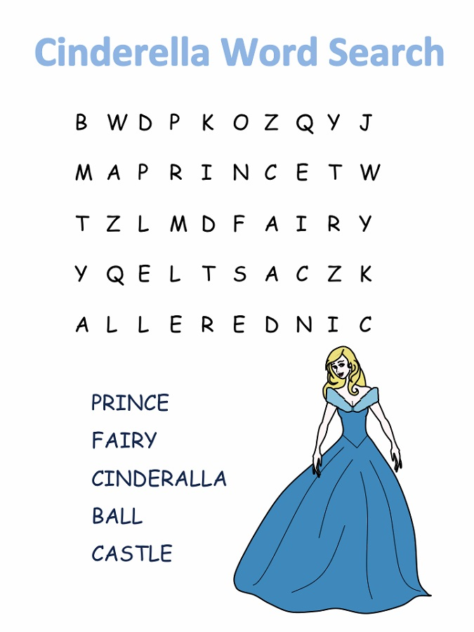 easy-word-searches-cinderella