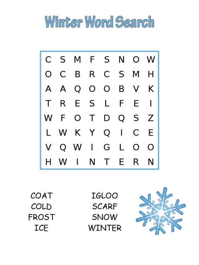 Free Easy Word Searches for Kids | Activity Shelter